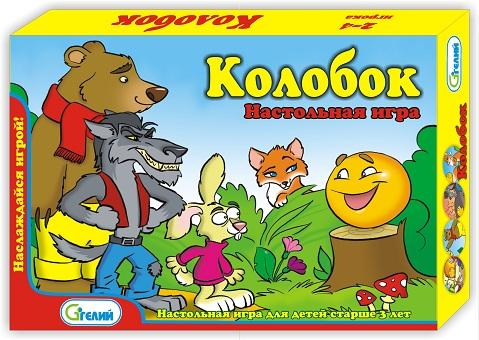 """Настольная игра в подарочной коробке&quotКолобок"""" арт. 10521"""