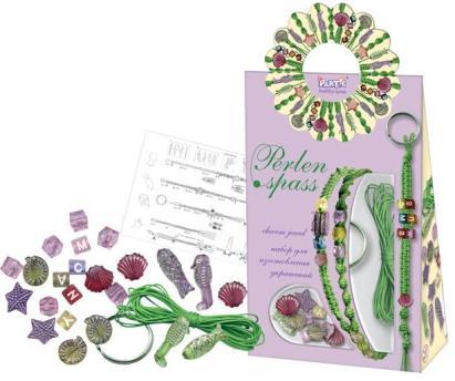 Набор для плетения фенечек (фенечки, браслеты) зеленые