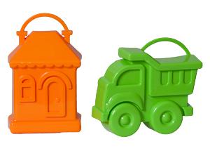 Набор Формочек (машинка и домик)