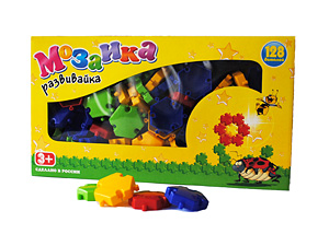Мозаика-развивайка (110 дет)    в коробке