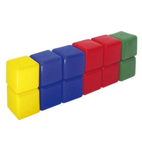 Веселые кубики 12 штук . Размер стороны  8Х8см в термопаке