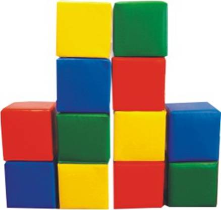 Веселые кубики 16 штук .  Размер стороны   8Х8см в термопаке